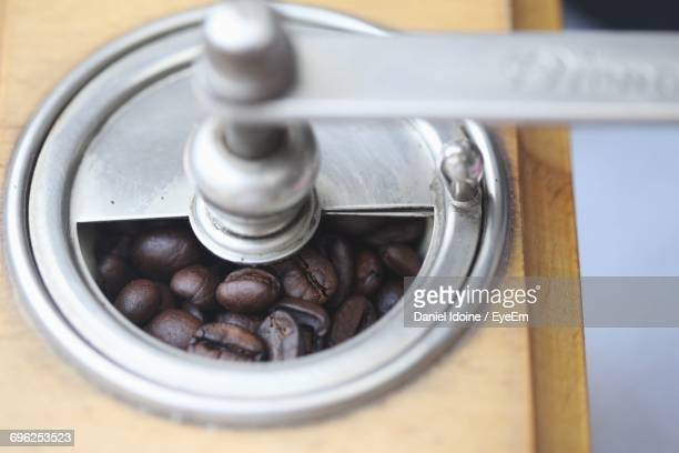Close Up Of Coffe Grinder