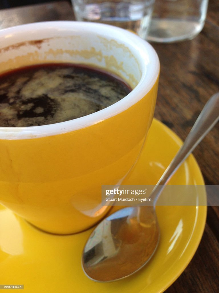 Close Up Of Coffee Cup : Foto stock