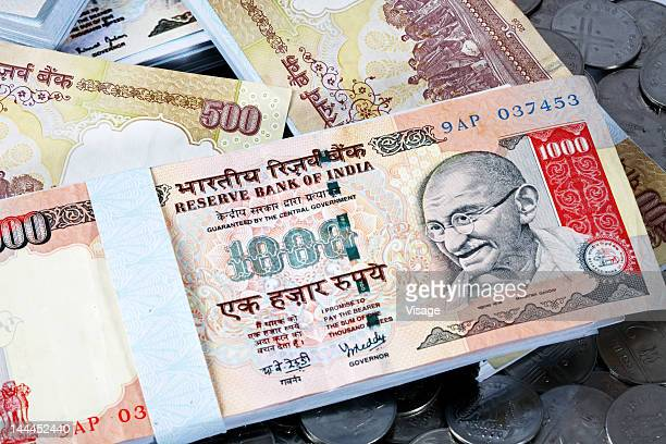 Close up of currency notes