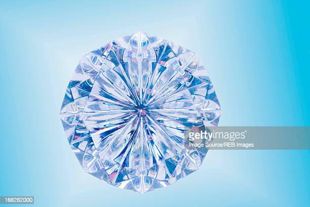 close up of cut diamond - diamant stock pictures, royalty-free photos & images