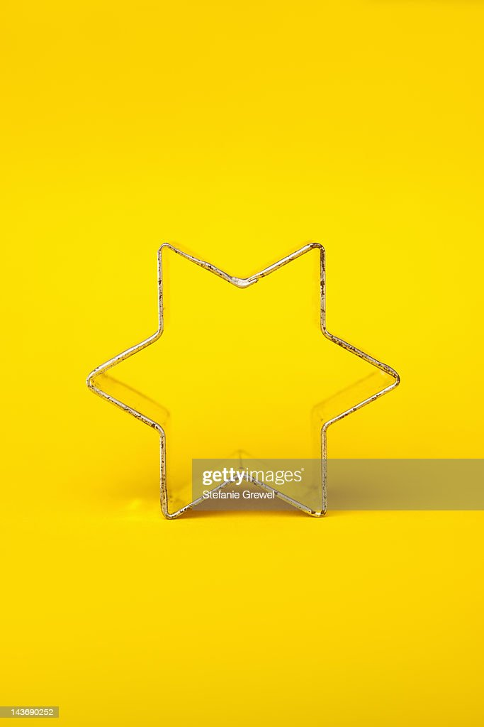 Close up of decorative cookie cutter : Stock Photo