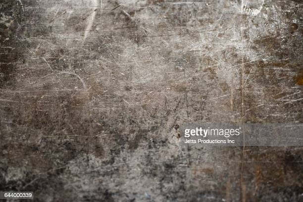 close up of dirty metal wall - metallic stock photos and pictures