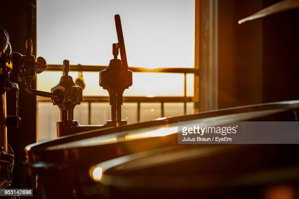 close up of drum indoors - musical equipment stock pictures, royalty-free photos & images