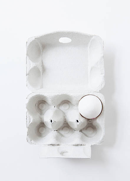 Close Up Of Egg In Carton Wall Art