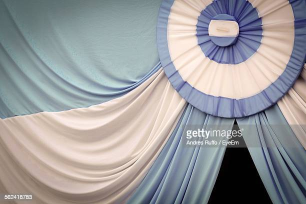close up of entertainment tent - andres ruffo stock photos and pictures
