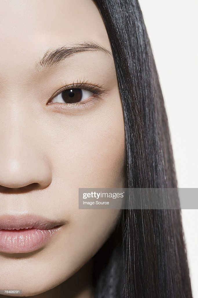 Close up of female face : Stock Photo