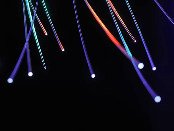 Close Up Of Fiber Optic Cables Wall Art