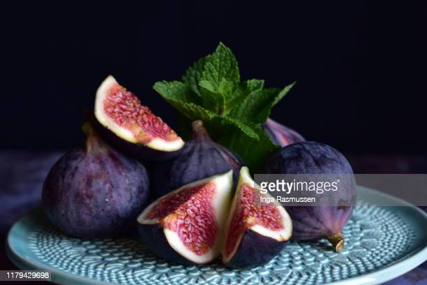 close up of figs - still life stock pictures, royalty-free photos & images