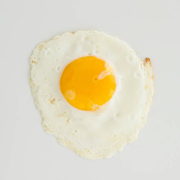 Close Up Of Fried Egg, Studio Shot Wall Art