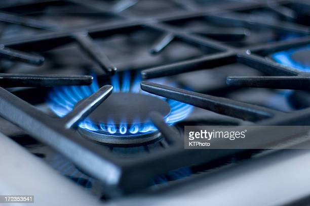 Close up of Gas Range