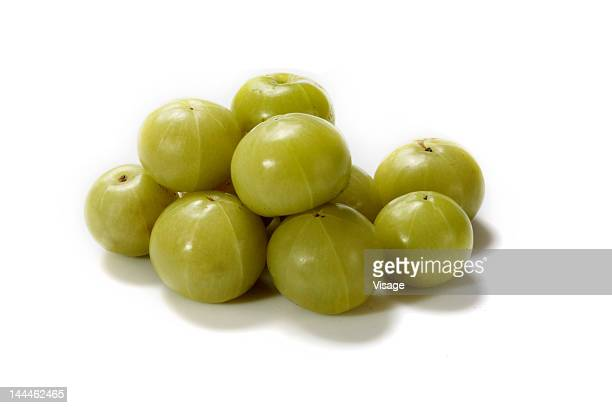 Close up of gooseberries