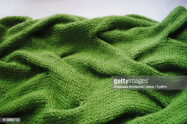 close up of green wool - knitted stock pictures, royalty-free photos & images