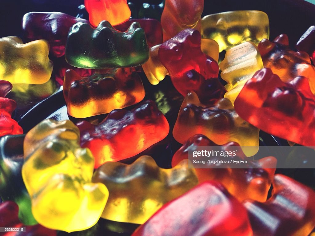 Close Up Of Gummy Bears : Foto stock
