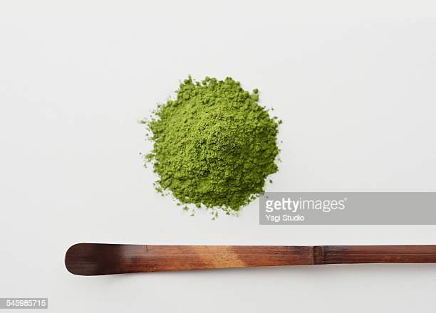 Close up of Japanese Green tea (matcha)