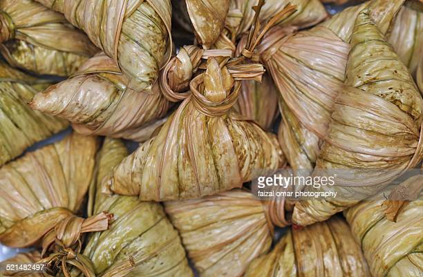 Close Up of Ketupat Palas
