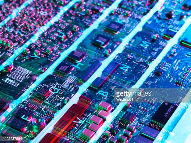 close up of keyboard - computer chip stock pictures, royalty-free photos & images