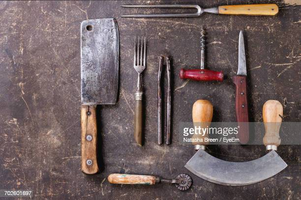 Close Up Of Kitchen Utensils