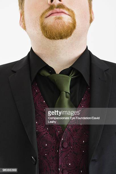 "close up of man wearing suit and tie - ""compassionate eye"" stock pictures, royalty-free photos & images"