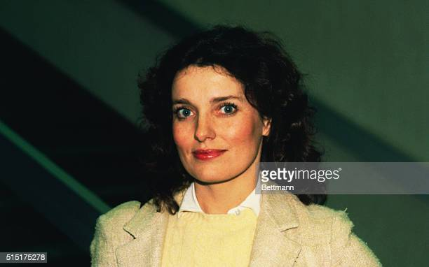 Close up of Margaret Trudeau, estranged wife of Canadian Prime Minister Pierre Trudeau.