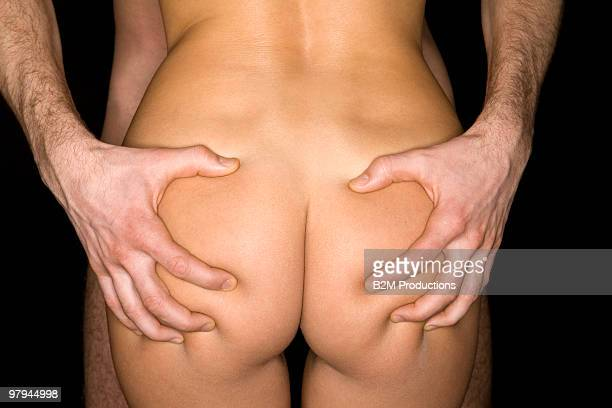 Close up of nude man and woman