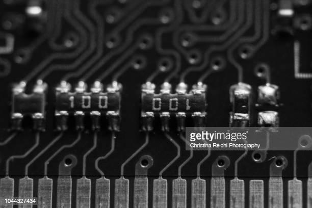 close up of of ram memory - b fotos - fotografias e filmes do acervo