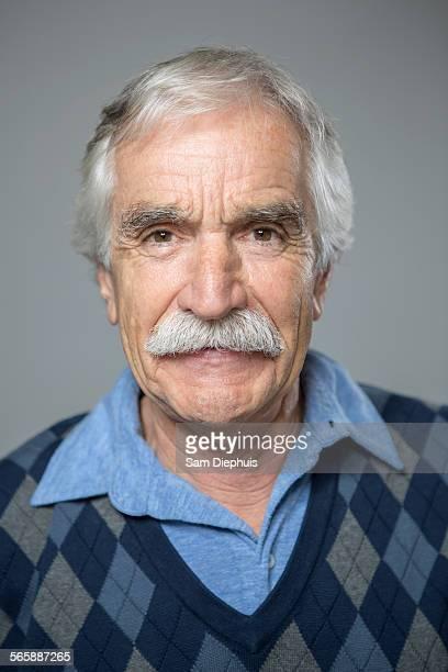 Close up of older Caucasian man