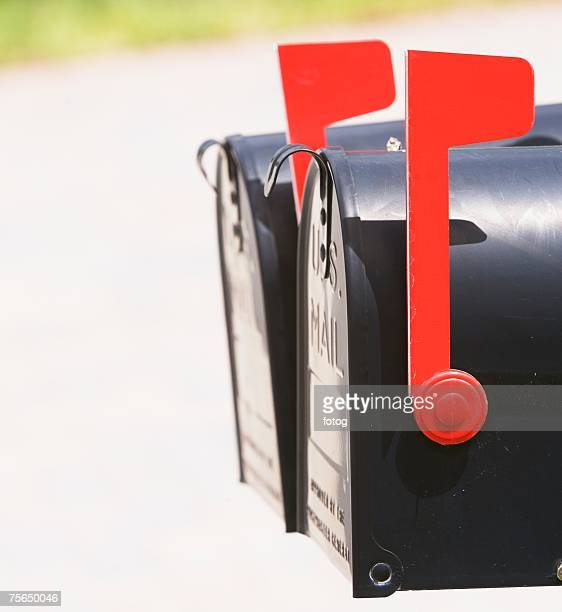 Mailbox Flag Up Stock Photos and Pictures Getty Images