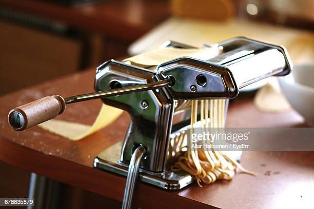 Close Up Of Pasta Maker