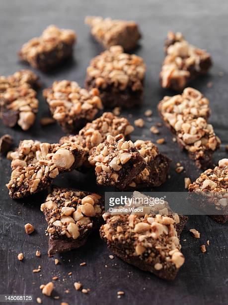 plano aproximado de amendoim frágil doce - caramelo de manteiga comida doce imagens e fotografias de stock