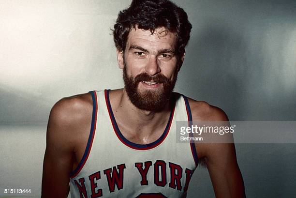1974 Close up of Phil Jackson player for the New York Knicks in uniform Undated color slide