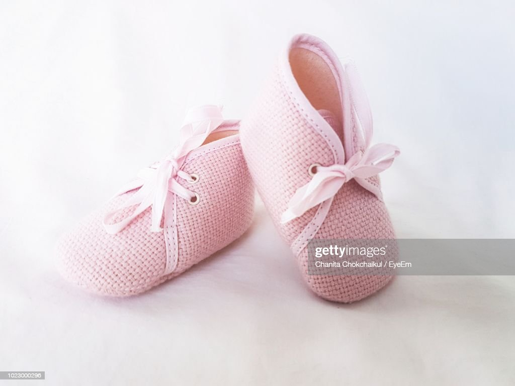 Close Up Of Pink Shoes : Stock Photo