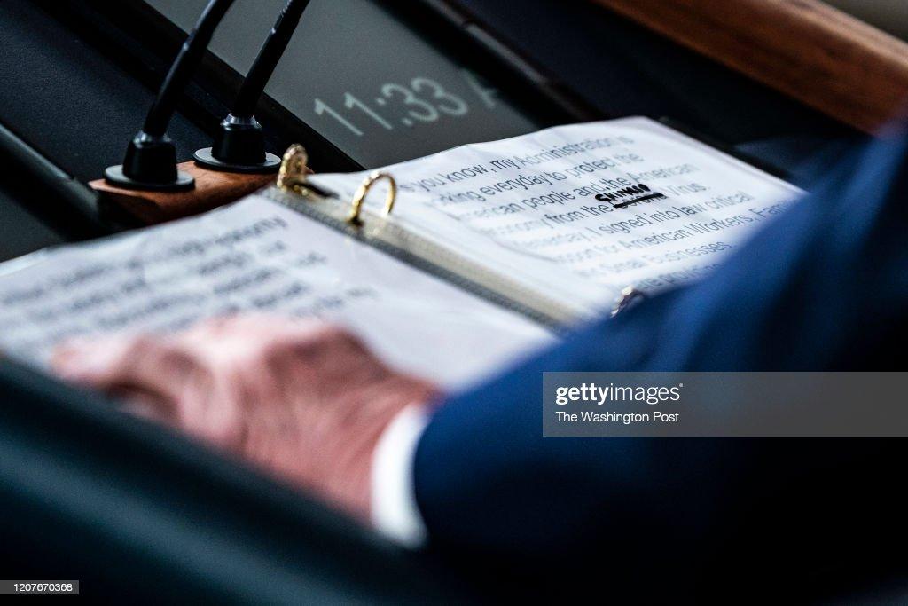President Donald J. Trump : News Photo