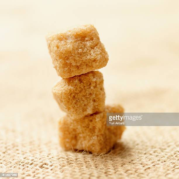 Close up of raw sugar