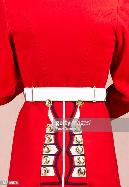 close up of rear of guardsman. - honor guard stock pictures, royalty-free photos & images