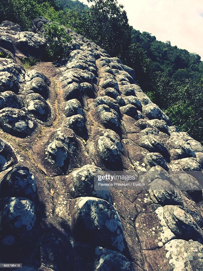 Close Up Of Rock Formation : Foto stock
