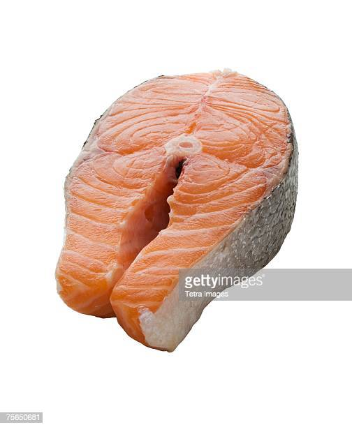 Close up of salmon fillet