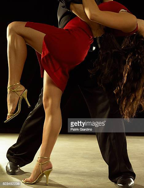 Close Up of Salsa Dancers