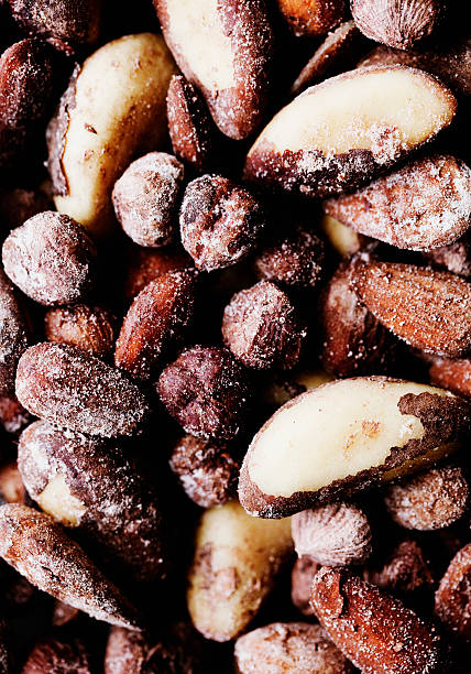 Close Up Of Salted Nuts Wall Art