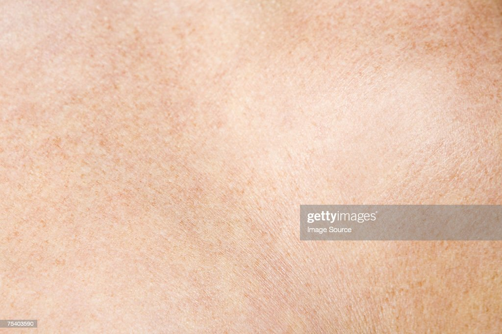 Close up of skin : Stockfoto