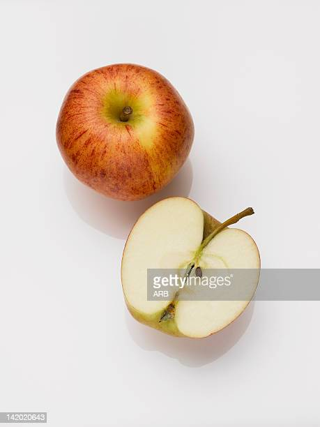 Close up of sliced apple