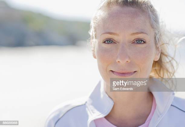 close up of smiling woman - 35 39 years stock pictures, royalty-free photos & images