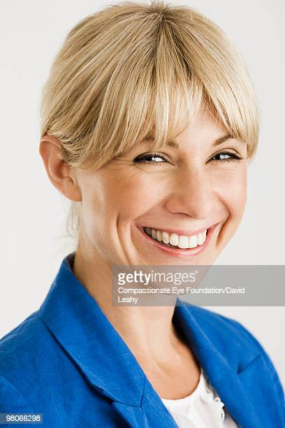 "close up of smiling woman - ""compassionate eye"" stock pictures, royalty-free photos & images"