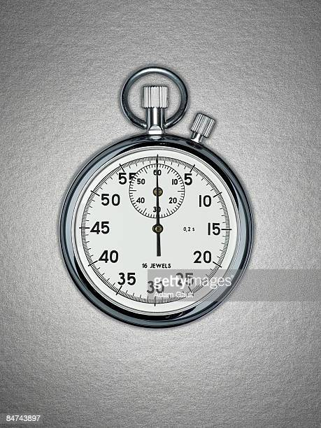 Close up of stopwatch