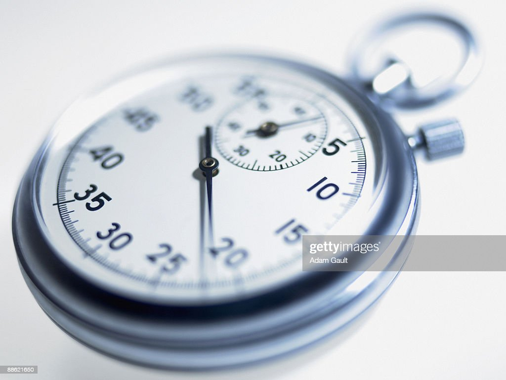Close up of stopwatch : Stock Photo