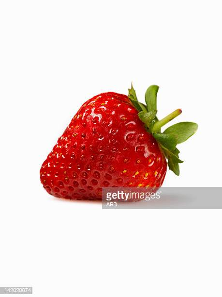 close up of strawberry - strawberry stock pictures, royalty-free photos & images