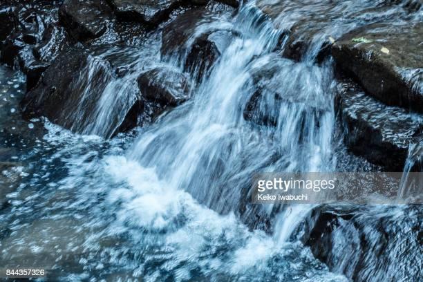 Close up of stream
