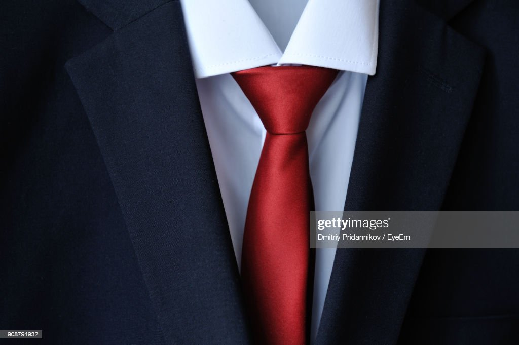 Close Up Of Suit : Stock Photo