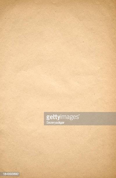 close up of tan old paper background - parchment stock pictures, royalty-free photos & images