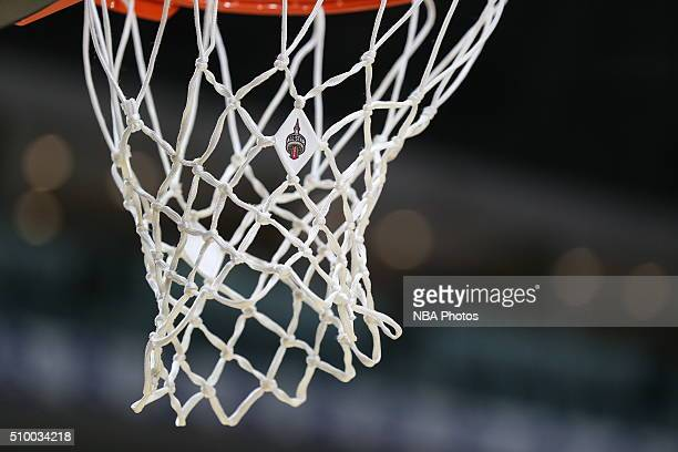 A close up of the AllStar logo on the net during the NBA DLeague AllStar Game 2016 presented by Kumho Tire as part of 2016 AllStar Weekend at the...