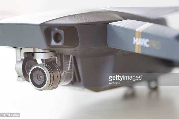 close up of the dji mavic pro drone - remote control car games stock photos and pictures
